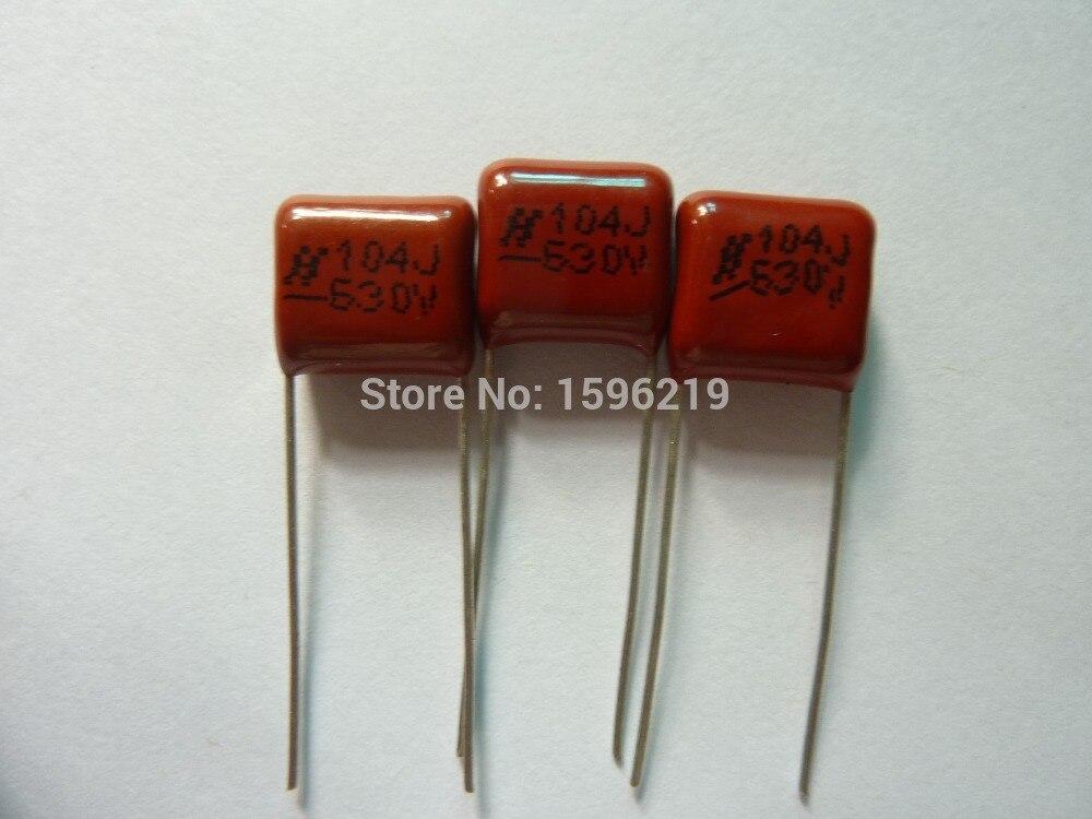 20Pcs CBB 104 630V 104J CBB21 0.1UF 100nF P10 Metallized Polypropylene Film Capacitor