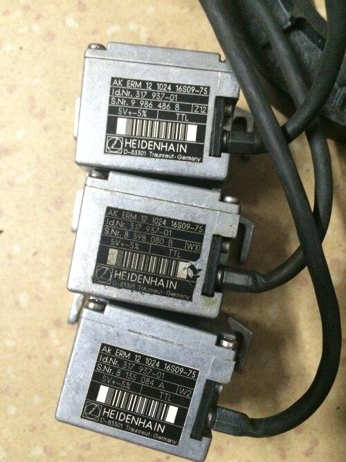 جهاز تشفير AK 12 1024 16S09-75 ، منتج مستخدم ، مظهر جديد 90% ، ضمان 3 أشهر ، شحن سريع