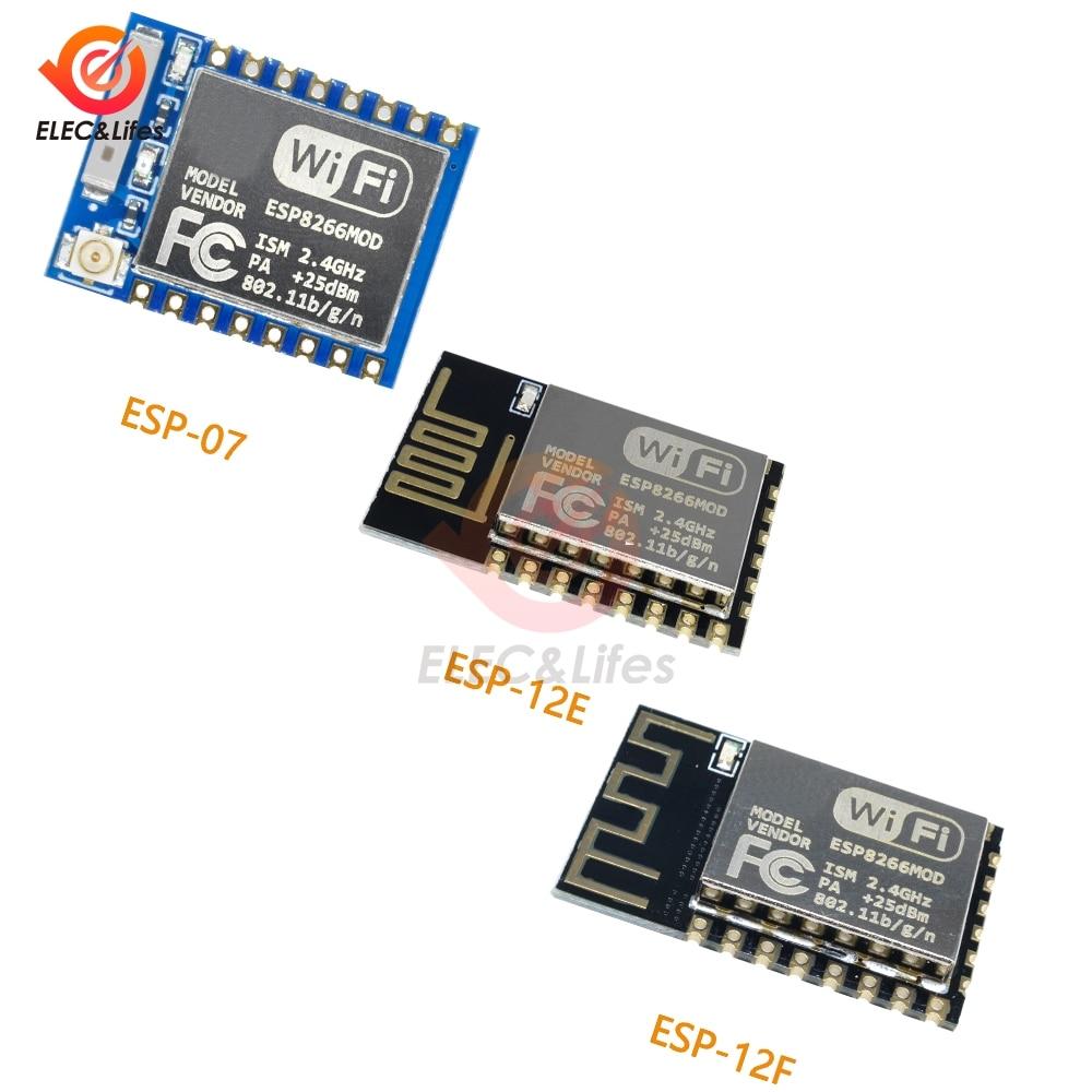 3.3V ESP-07 ESP-12E ESP-12F (replace ESP-12) ESP8266 Remote Serial Port WIFI Wireless Transceiver Mo
