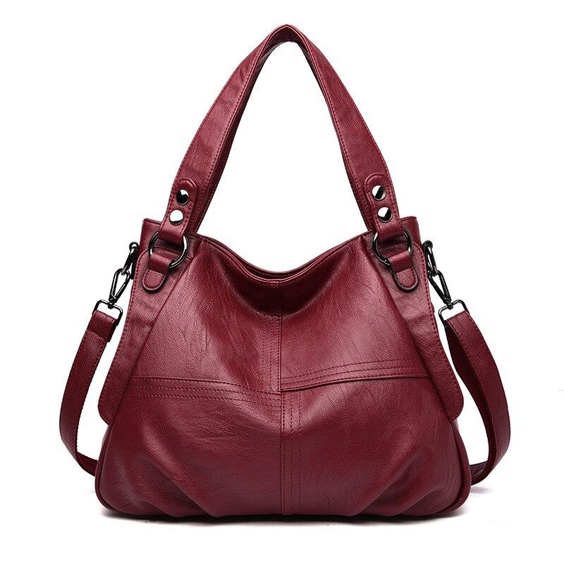 Роскошная женская кожаная сумка-тоут, сумки через плечо для женщин, дизайнерские сумки, высокое качество, сумка на плечо, женские ручные сум...