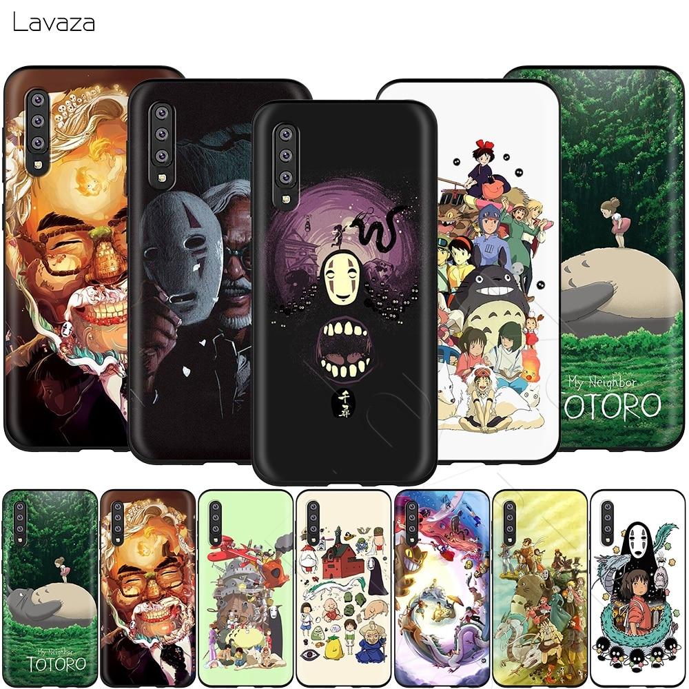 Lavaza Totoro en espíritu Ghibli caso para Samsung Galaxy Nota 10 Plus A10 A30 A40 A50 A70 M20 A20 A20S A10S A30S A50S