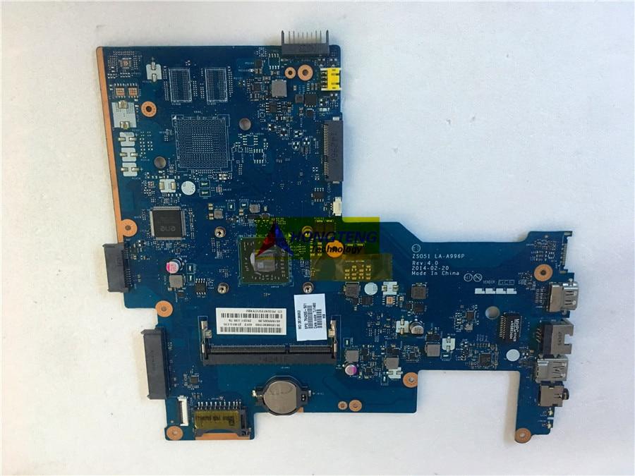 الأصلي 764265-501 ل HP 15-G اللوحة المحمول مع A4-6210 1.8Ghz CPU zs051 la-a996p اختبار موافق شحن مجاني