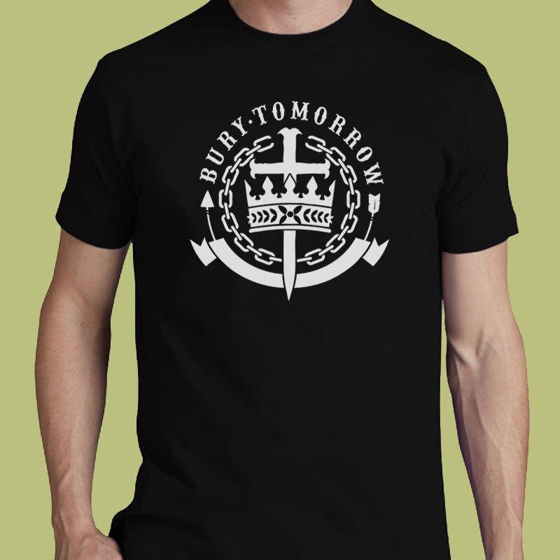 Enterrar Amanhã Post-Banda de hardcore S M L XL 2XL Jason Cameron 3XL T-shirt Tee Tee Top Plus Size camiseta Harajuku