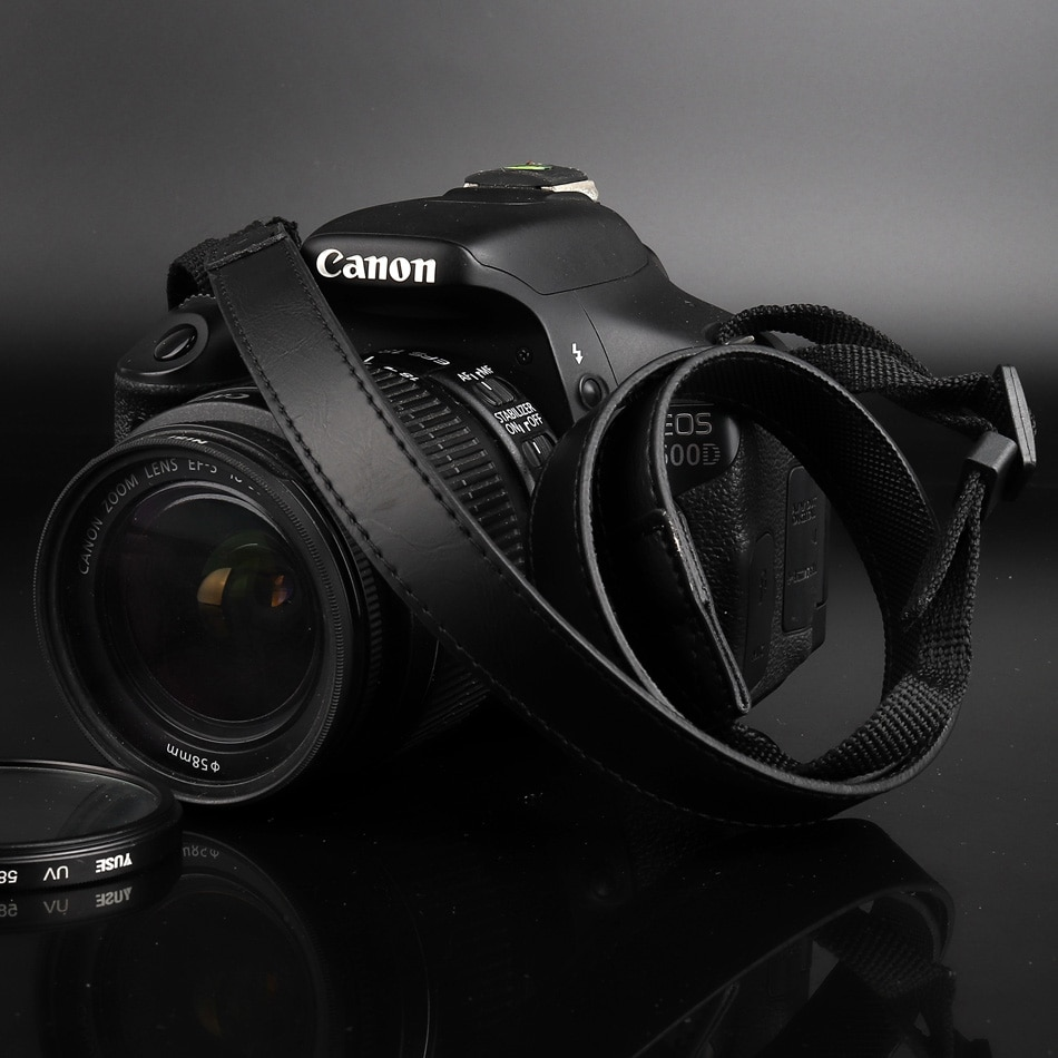 Cuero de la PU correa de la Cámara de correa de hombro cuello correa para Canon M100 M50 M10 M5 M6 M3 SX730 SX520 SX530 SX50 SX60 G7X G9X G15 G16 G12
