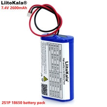 LiitoKala 7.2 V/7.4 V/8.4 V batterie au lithium 18650 mA batterie Rechargeable mégaphone haut-parleur protection conseil