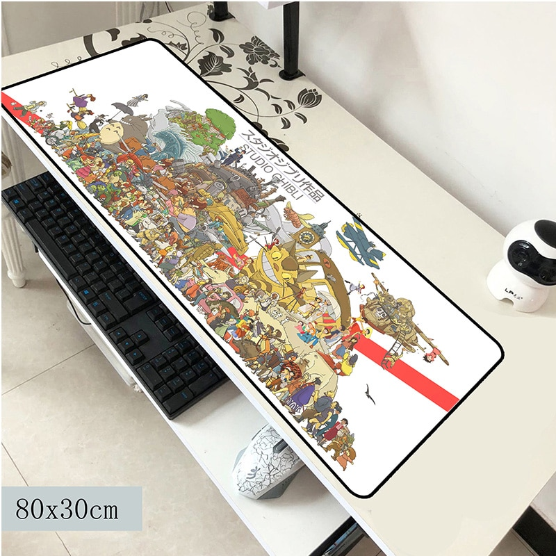 Totoro mouse pad 800x300x3mm mouse mat laptop big padmouse notbook computer gaming mousepad best sel