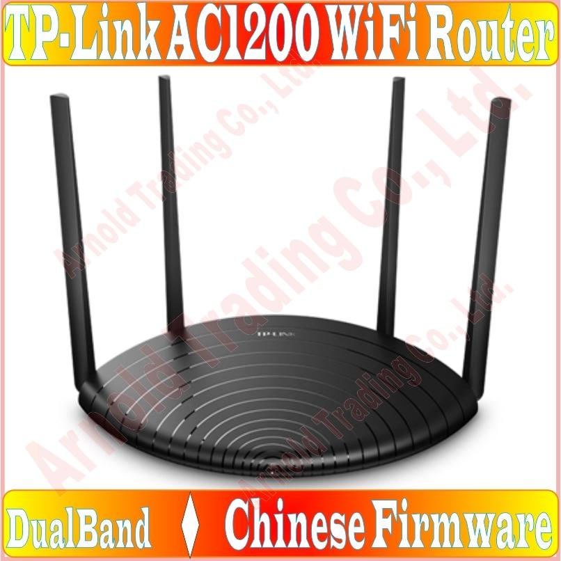 Chin-firmware 4 antenas externas roteador sem fio 802.11ac 1200 mbps banda dupla 2.4 ghz + 5 ghz ac1200 wifi enorme 5 portas soho roteador