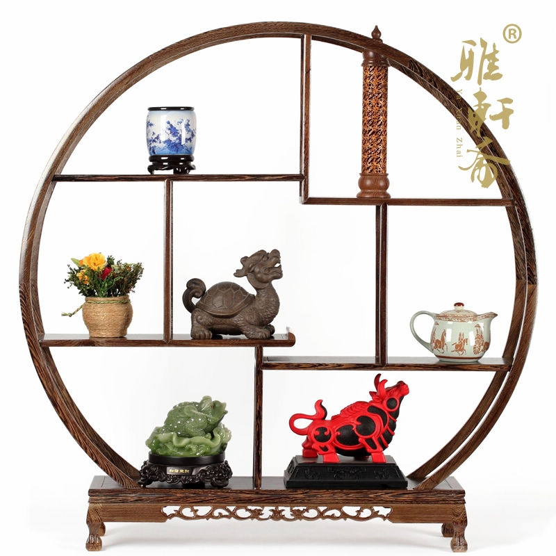 Ya Zhai czerwone drewno rzemiosło dekoracyjne wysokiej klasy prezenty biznesowe antyczne rzeźbione duże okrągłe półki 100cm