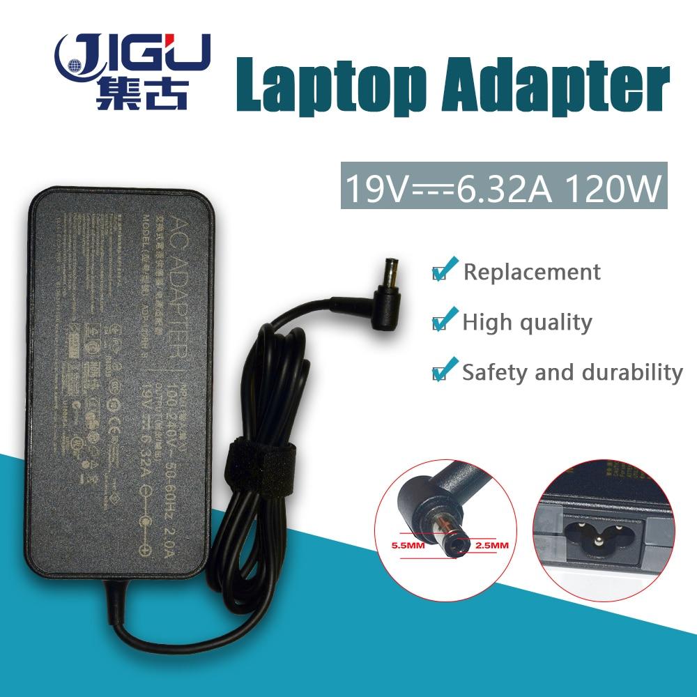 JIGU Замена для ASUS 19V 6.32A 5,5*2,5 мм ADP-120RH PA-1121-28 G50 G73 G71 K55 K53 K73 N53 N550 GL751 UX501 X550