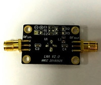 10K-2G LNA Low Noise RF Amplifier High Gain 31DB@0.5G High Gain Flatness