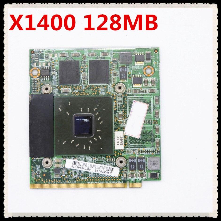 35G1P5300-B0 X1400 128MB VGA بطاقة الفيديو ل أميلو بي 1536 بي 1556 بي 1537 A3667G M3438G M3667G استبدال 7600GS 35G1P5310-10 X700