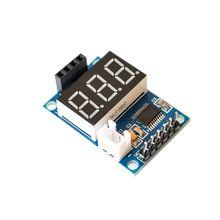 Ultradźwiękowy moduł pomiaru odległości test wyżywienie, aby zapewnić 5 V test test płyty HC-SR04 wyświetlacz dalmierz