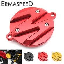 Cnc de alumínio da motocicleta modificado peças acessórios do motor capa decorativa redonda preto vermelho amarelo para honda msx125 msx sf125