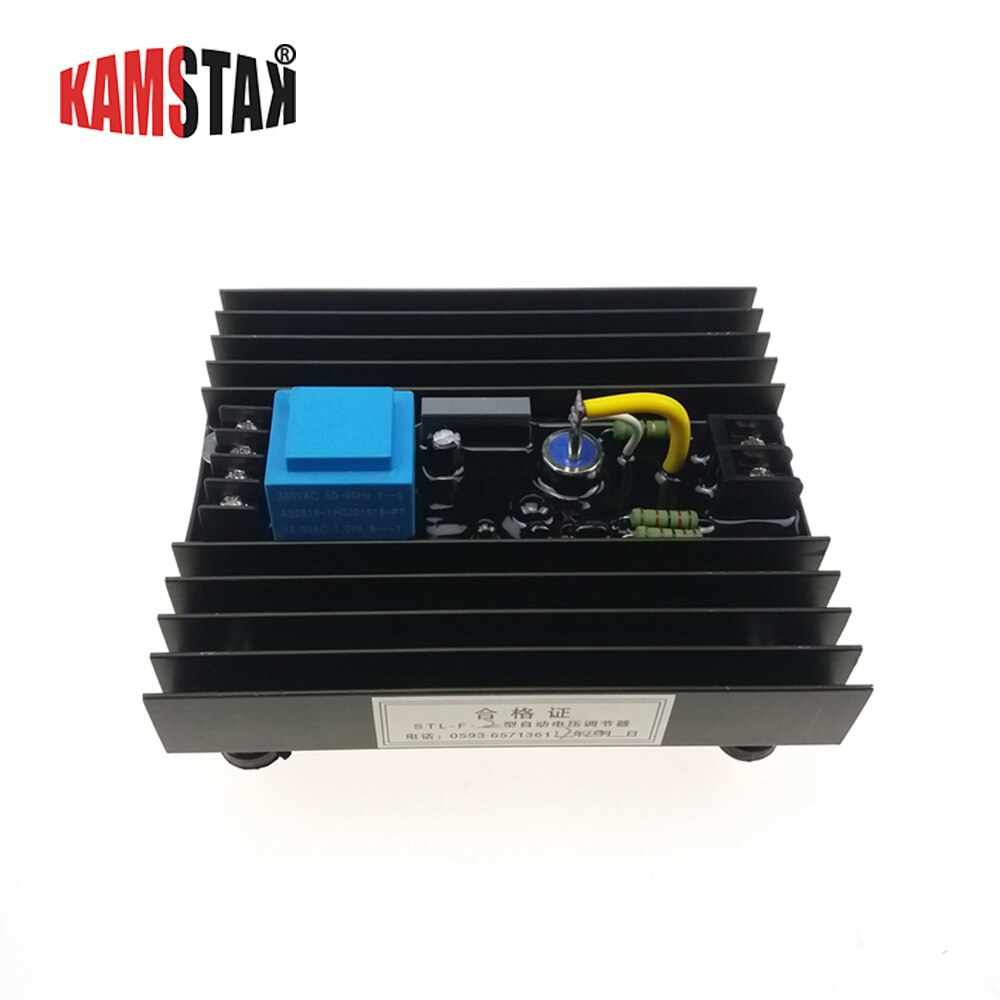 STL-F-3 AVR التلقائي الجهد المنظم avr مولد أجزاء فرشاة المولد STC ST 220V 380V ثلاث مراحل حامي استقرار