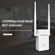 2 haute antennes pont Signal amplificateur AC 1200 Mbps sans fil Wifi répéteur filaire routeur wifi Point daccès