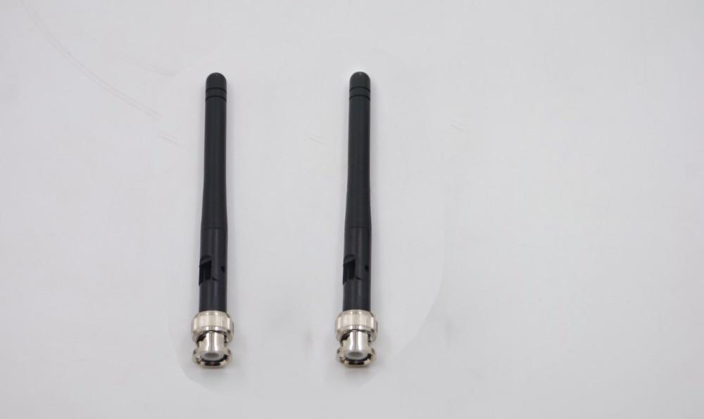 2 uds BNC UHF Antena de micrófono para Sennheisers G3 Series Wireless Mic EW135G3 reemplazo