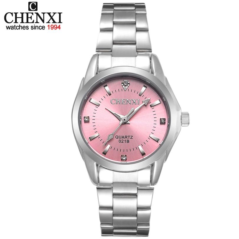 6 Fashion colors CHENXI CX021B Brand relogio Luxury Women's Casual watches waterproof watch women fa