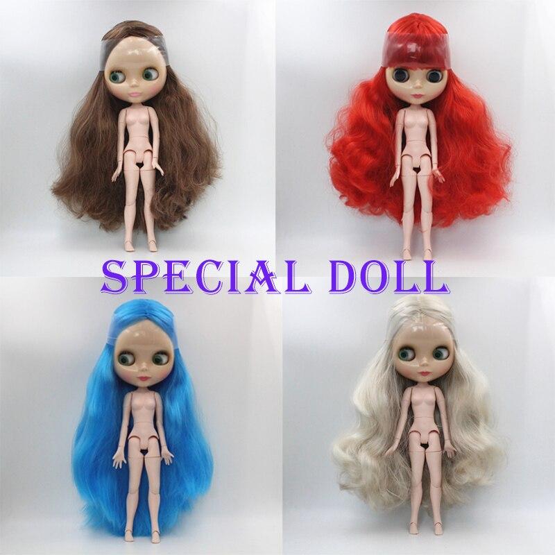 Muñecas especiales Blyth, muñecos multicuerpo con 19 articulaciones, muñecos desnudos DIY, adecuados para que pueda cambiar de ropa, serie 4