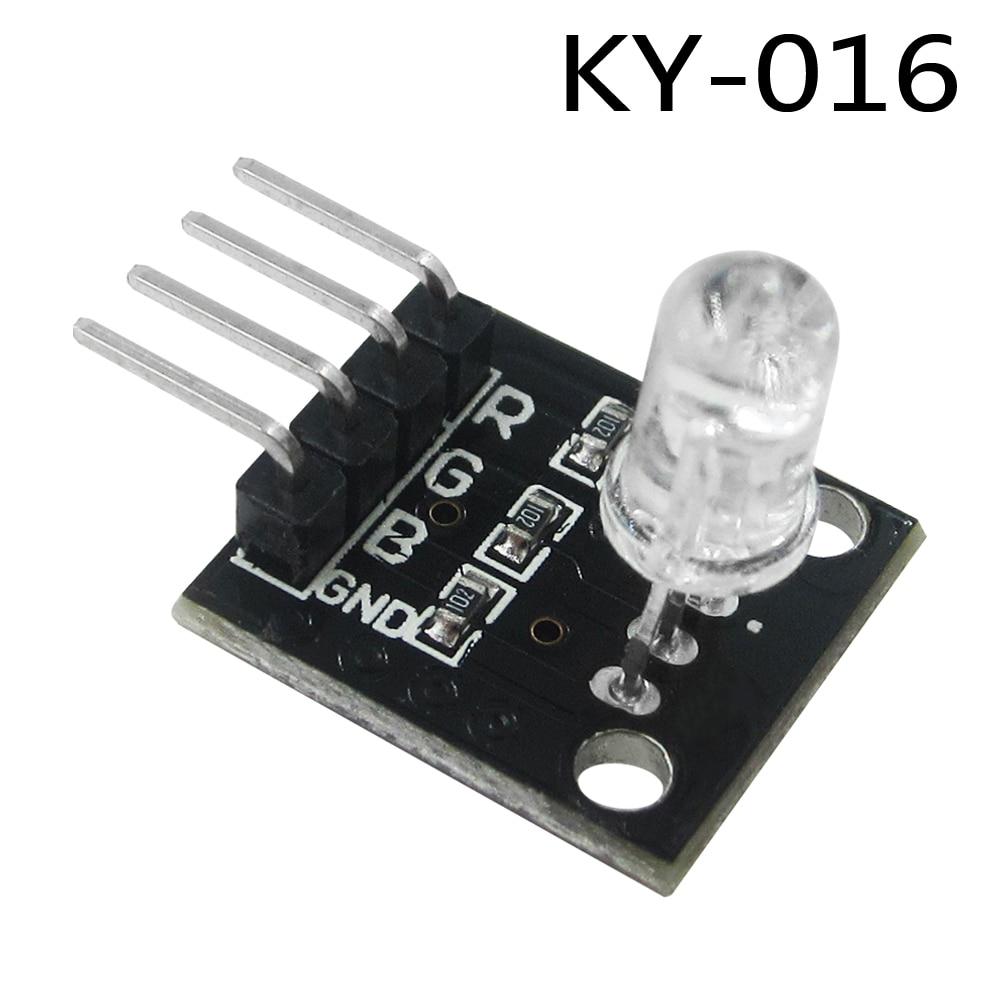 4pin  KY-016 Three Colors 3 Color RGB LED Sensor Module  DIY Starter Kit KY016