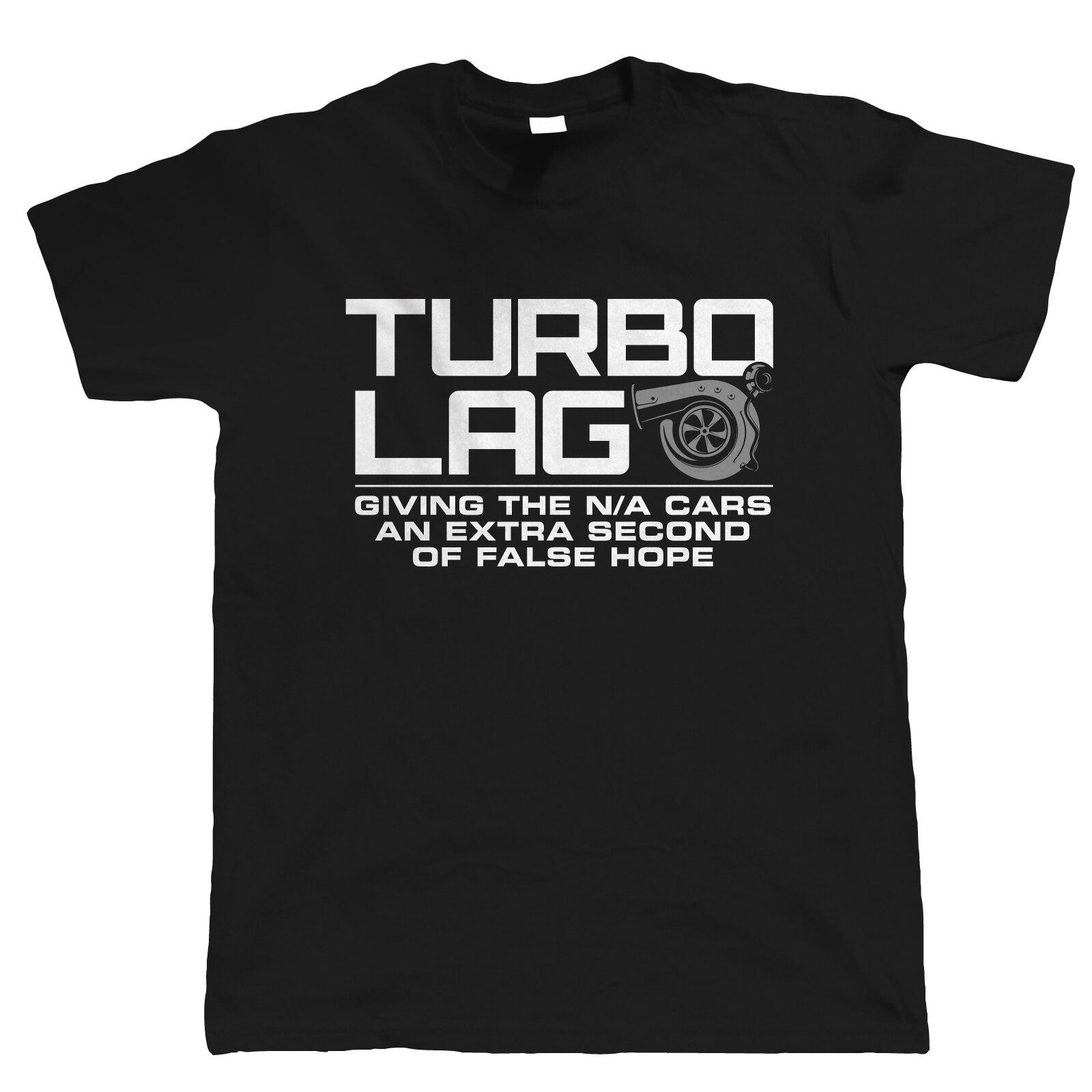 2019 Nieuwe Collectie MenS Fashion Turbogat Mens Grappige Auto T-shirt-Gift voor Hem Papa Slepen Racinger Drift motorsport Zomer T-Shirt