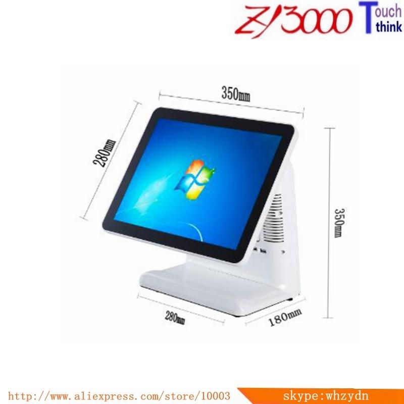 Nouveau stock I5 4200u 4G 64G SSD 17 pouces tout en un écran tactile terminaux/système de point de vente