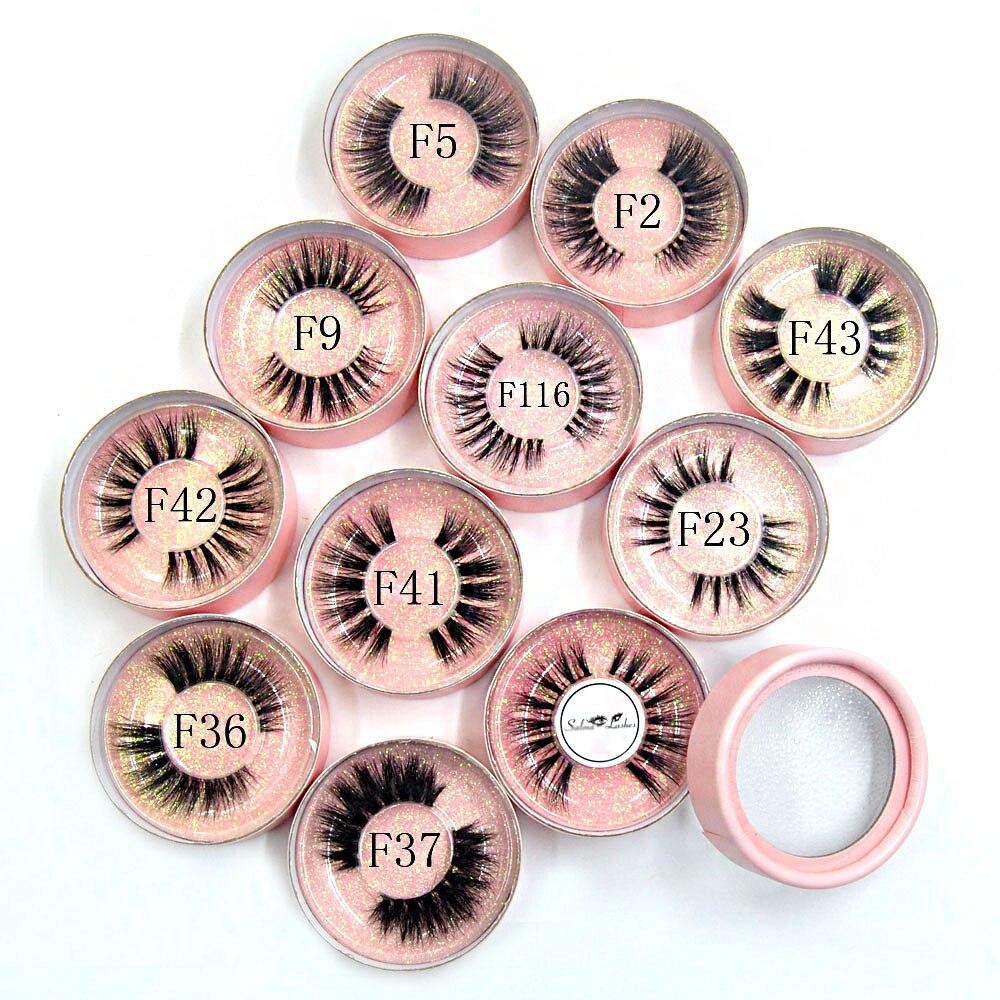 10 стилей, норковые 3D ресницы, натуральные, длинные, Роскошные, невидимые, тонкие, сценические, мягкие, для наращивания, круглые, розовые
