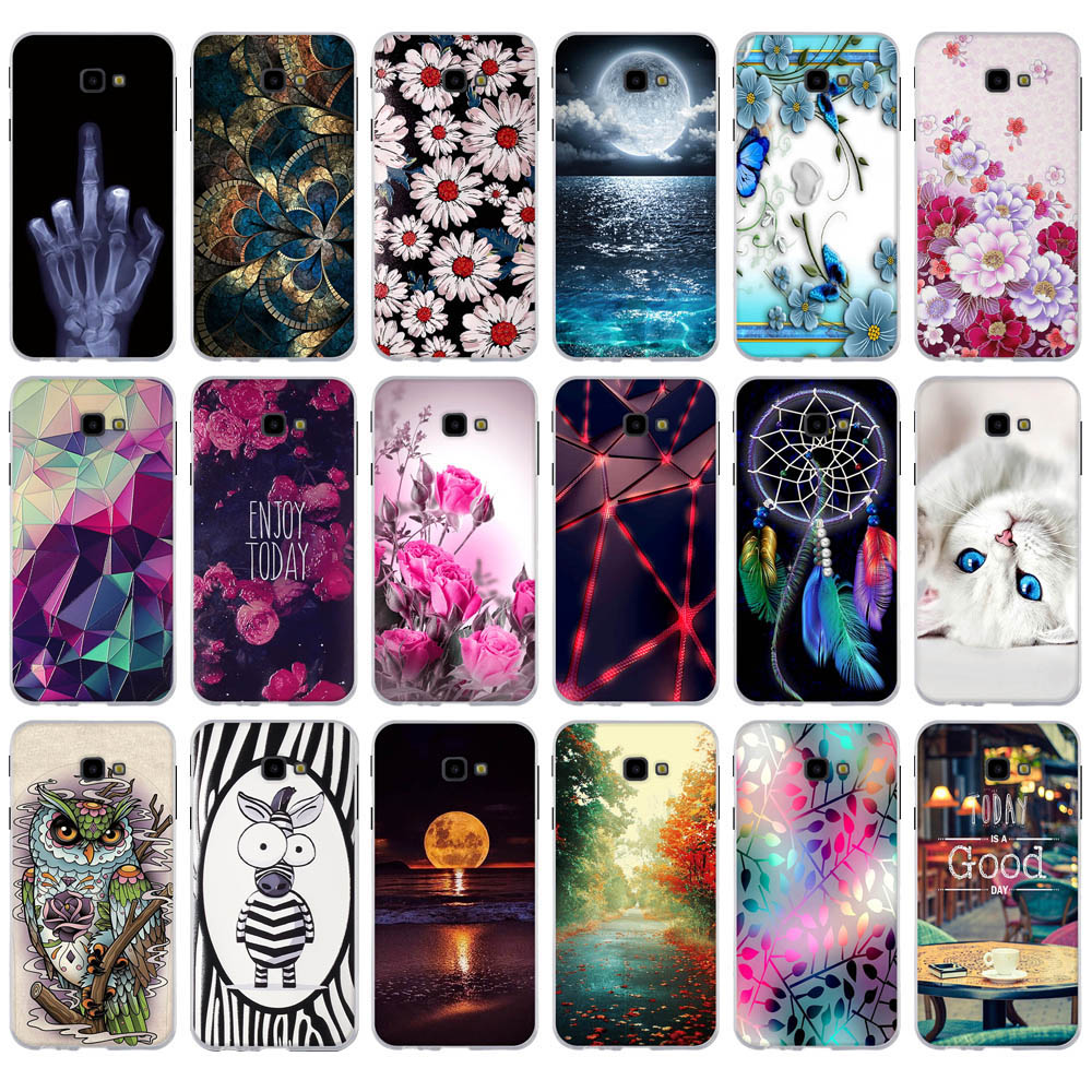 For Samsung Galaxy J4 Plus Case Soft Silicone Phone Case For Samsung Galaxy j4 prime J4 Plus J415F SM-J415F J4Plus J 4 Case Capa