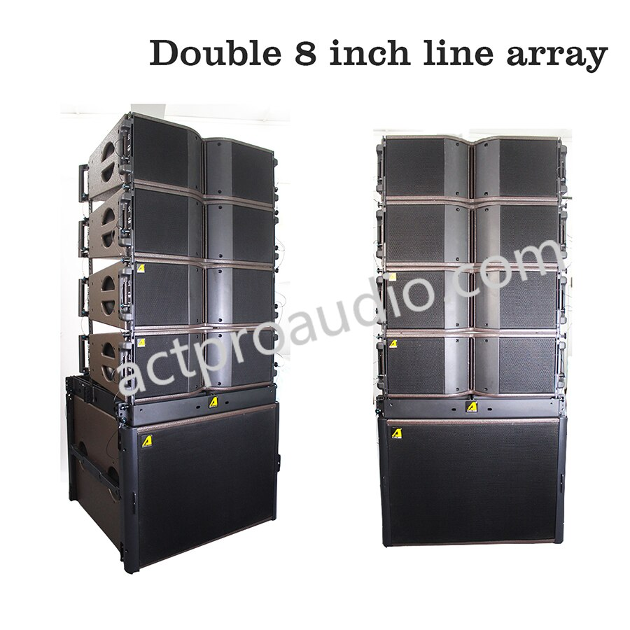 Altavoz doble de 8 pulgadas KR208, SB18, individual de 18 pulgadas, SB28, doble altavoz de 18 pulgadas, fábrica de China