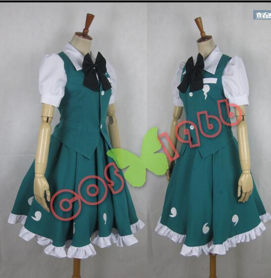 Lolita uniforme Touhou Project Cosplay Custume Youmu Konpak Anime Cosplay traje ropa japonesa uniforme