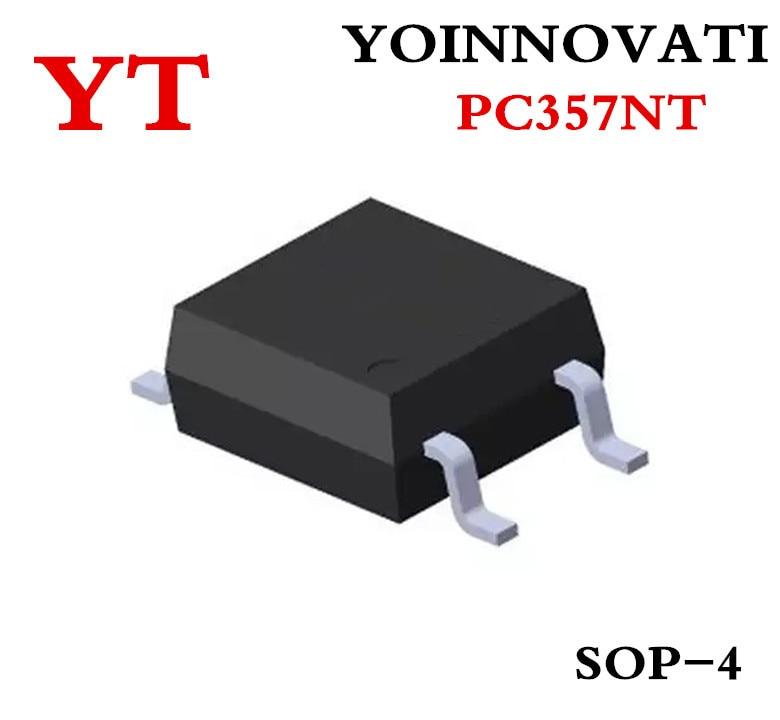 100pcs/lot PC357NTJ000F PC357NT PC357 357 OPTOISO 3.75KV TRANS 4-MINI-FLAT SOP-4 best quality.