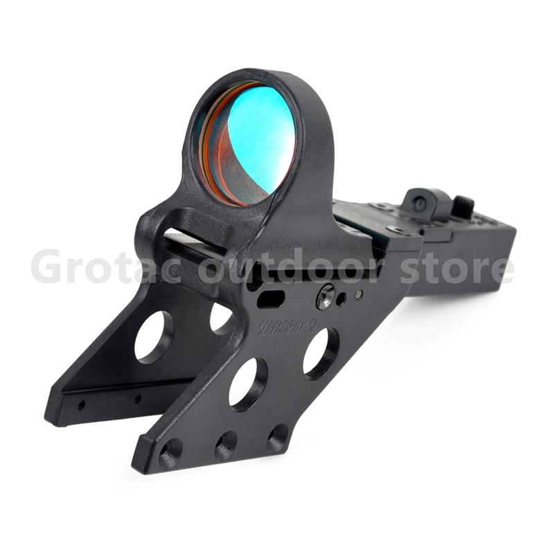 SeeMore Reflex Sight para HI-CAPA 1*29 c-more estilo táctico punto rojo airsoft Sight w/Serendipity montaje para caza