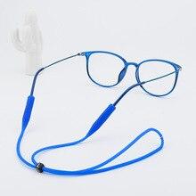 Женские эластичные силиконовые очки карамельного цвета, шнурок для очков, нескользящий держатель для ушей, ремешок для солнцезащитных очков, 2019