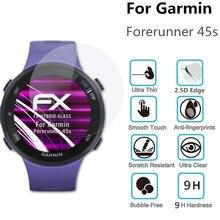 100 pièces verre trempé pour Garmin Forerunner 45s montre intelligente écran protecteur Forerunner 45 D35mm Film de protection