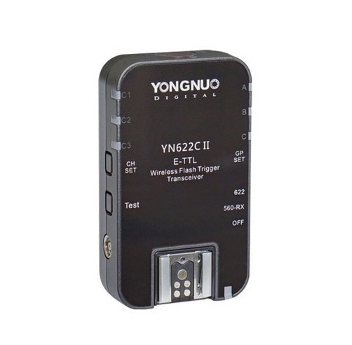 YONGNUO YN-622C II RX YN622C II RX HSS E-TTL فلاش الزناد لكانون كاميرا متوافق مع YN622C YN560-TX RF-603 II RF-605