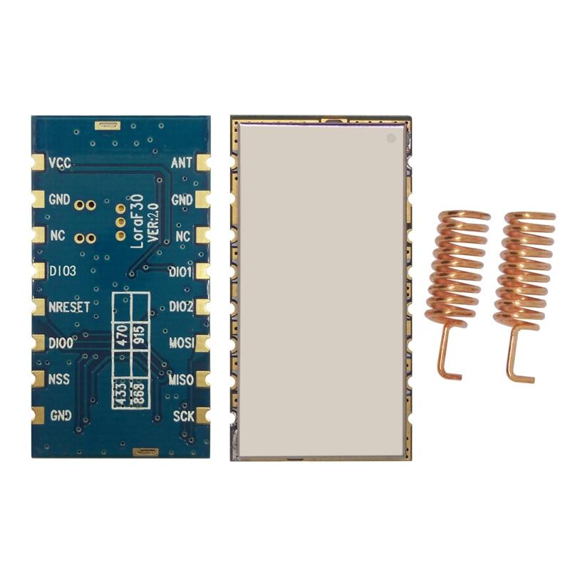2pcs/lot Lora1276F30 - 6~8Km 915MHz /868MHz high power 500mW long range LoRa Module 27dBm sx1276 RF transceiver