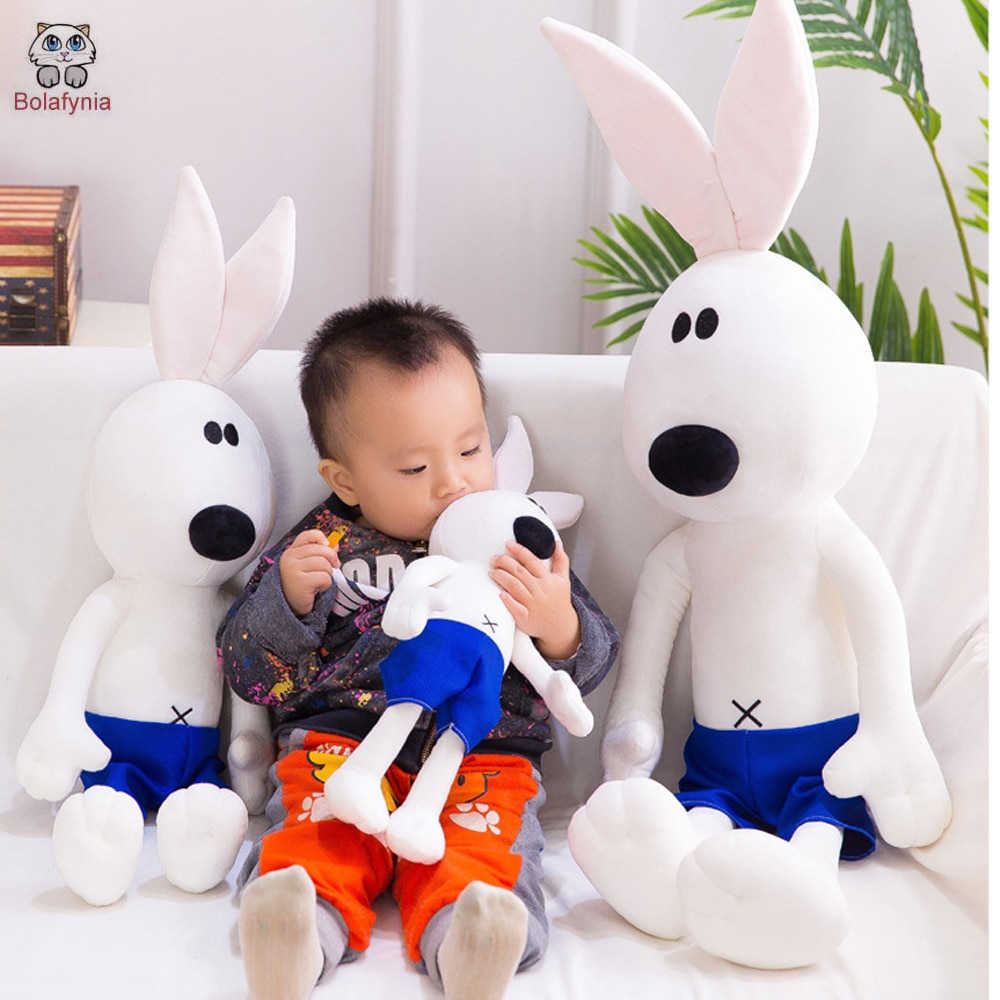 Juguete de peluche para niños, conejo, Kung Fu, BOLAFYNIA, juguete para niños, regalo de San Valentín para Navidad