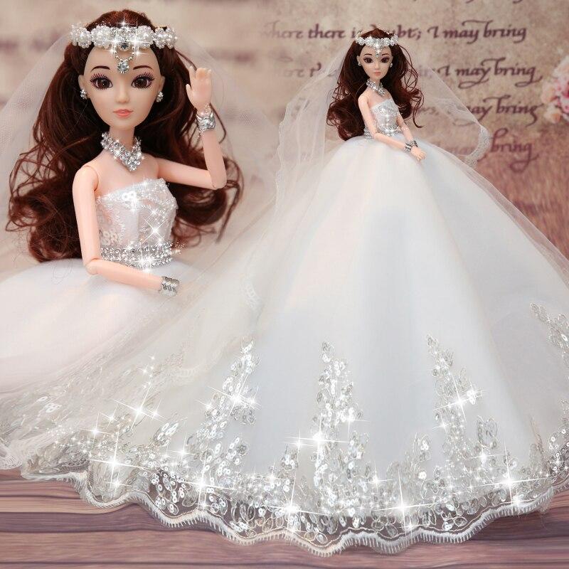 Свадебные куклы Reborn Doll, игрушки для девочек, ручная работа, высококачественная одежда для девочек, рождественские подарки, куклы для девоче...