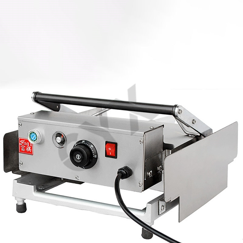Máquina tostadora de pan, hamburguesa doble, horno comercial para pan no pegajoso GUYX