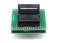 SO32 SOIC32 SOP32 à DIP32 (A) 652D032221X adaptateur de programmation de puits IC prise de rodage 1.27mm pas 7.55mm de largeur
