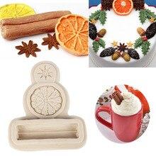 Moules Silicone citron Orange Aniseed cannelle   Savon liquide, moule pour gâteaux de décoration, outils de cuisson, bricolage chocolat Fondant sucre Cookie