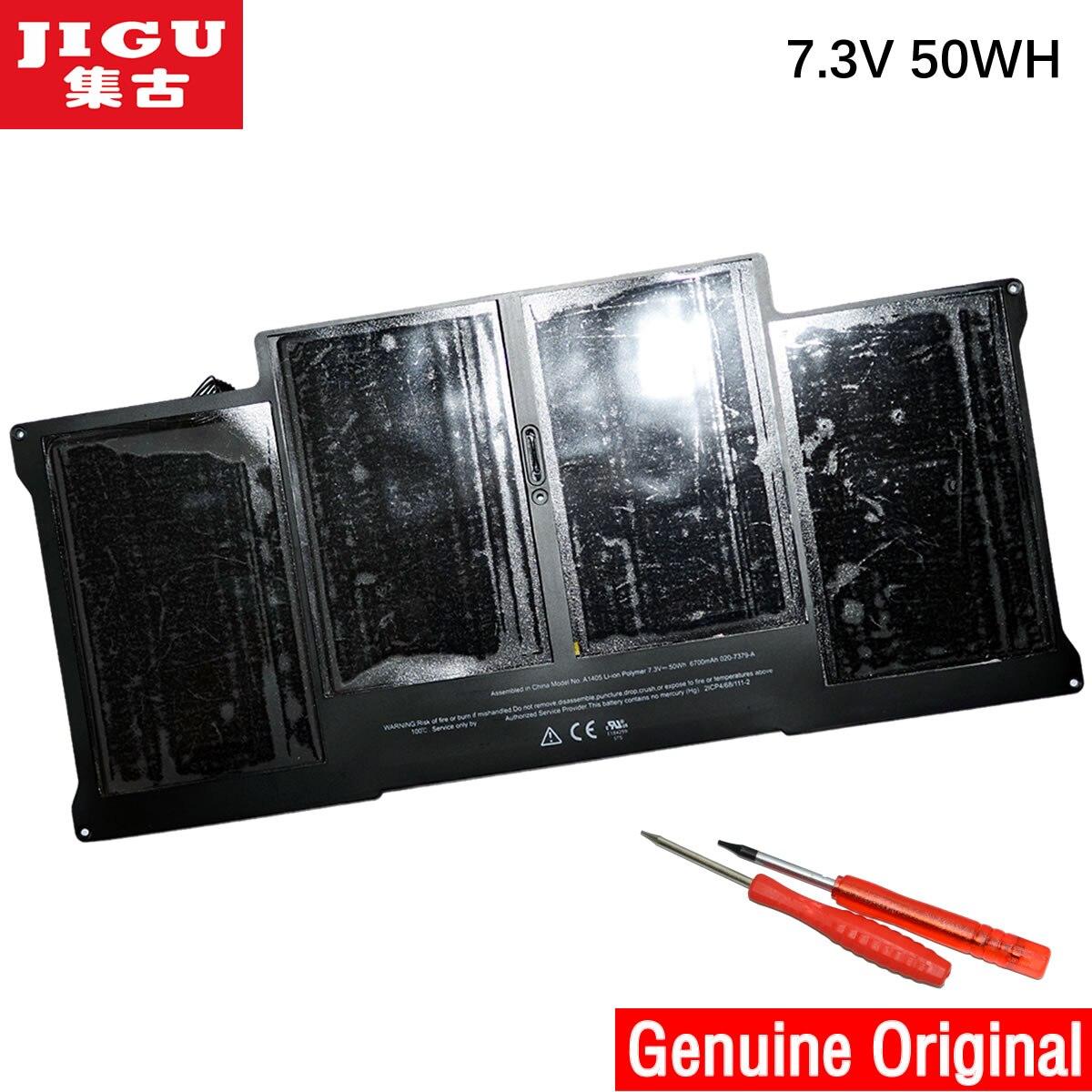 "JIGU batería Original genuina A1405 para MacBook Air 13 ""A1369 Mid 2011 A1466 Mid 2012"