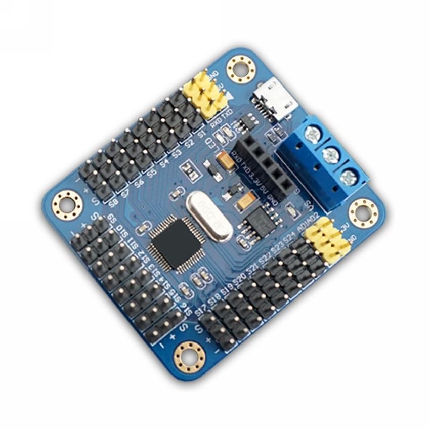 Мини USB 24 серводвигатель контроллер пл