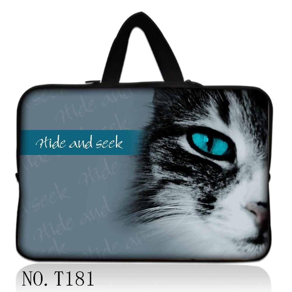 """Gato genial Eye 13 """"funda de portátil funda + mango de piel para Lenovo IdeaPad Yoga 2 Pro 13,3"""