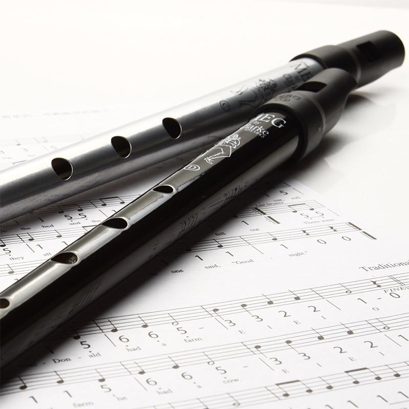 Clarke Flute C/D Key Whistle Ireland Traditional Musical Instrument Irish Whistle Flute Woodwind Instrument Flute for Beginner enlarge