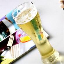 Vaso de cerveza elegante creativo, vasos de agua personalizados, taza de whisky, taza de agua fina para el hogar, taza de zumo transparente, té, Oficina DDQ215