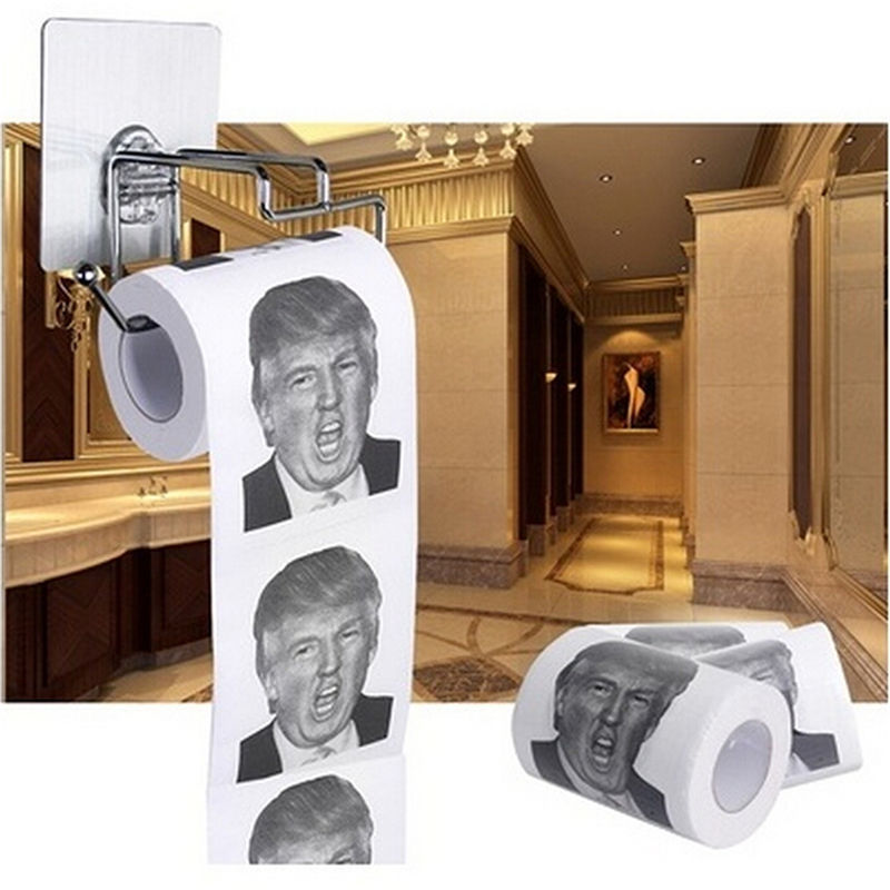 Рулон туалетной бумаги Дональд Трамп