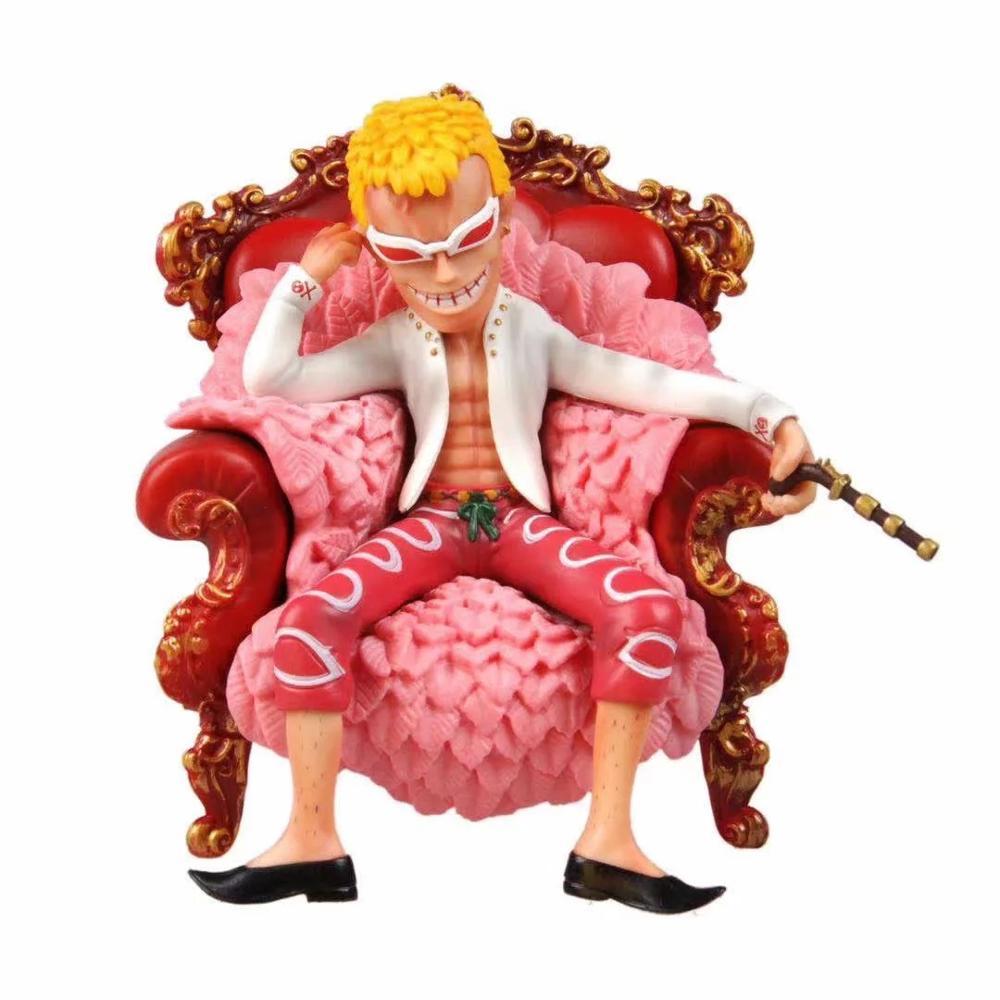 Figura de acción donquijote Doflamingo de 14 cm, colección de nuevas figuras de juguete de coleccionismo de PVC para regalo para Amiga