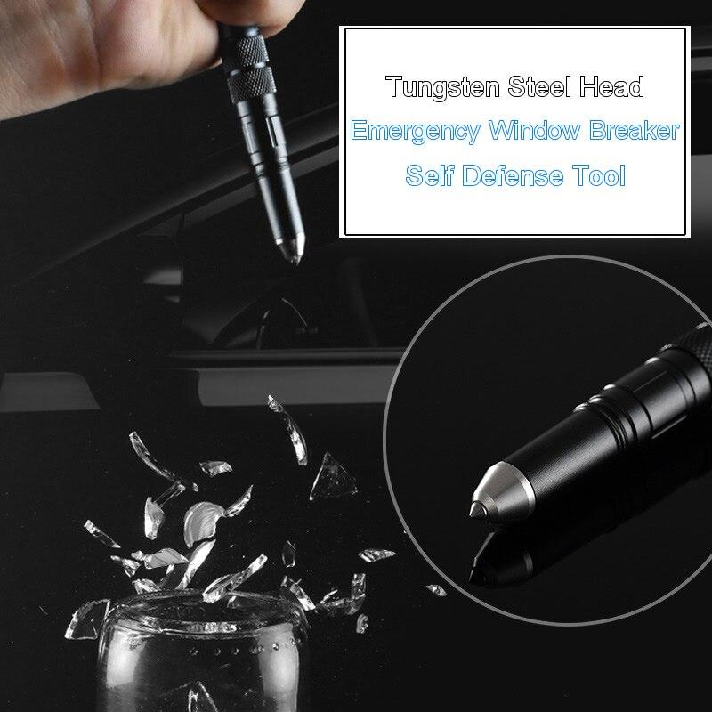 4 In 1 Portable Tactical Pen Flashlight Bottle Opener Emergency Glass Breaker Outdoor Self Defense Edc Pen Tool Gift Box Self Defense Supplies Aliexpress