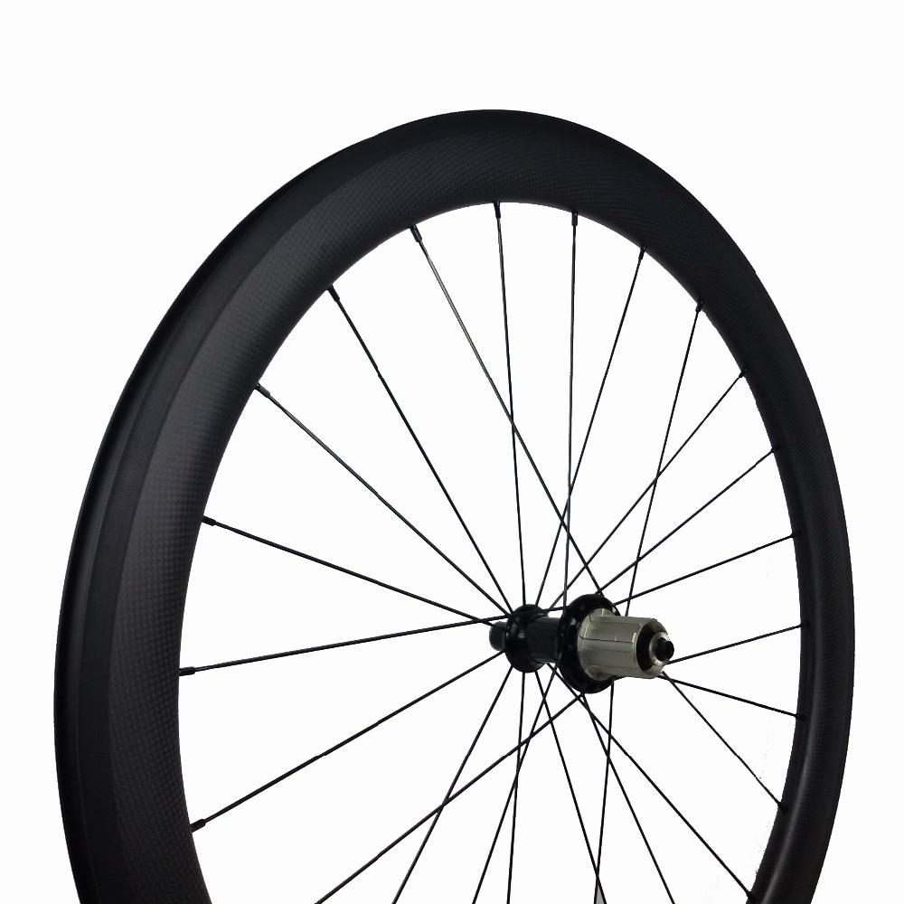 OEM carbon clincher wheels 50mm rodas carbono 700C wheelset Novatec A271/A291 or powerway R13/R36 option hub sapim cx-ray spoke