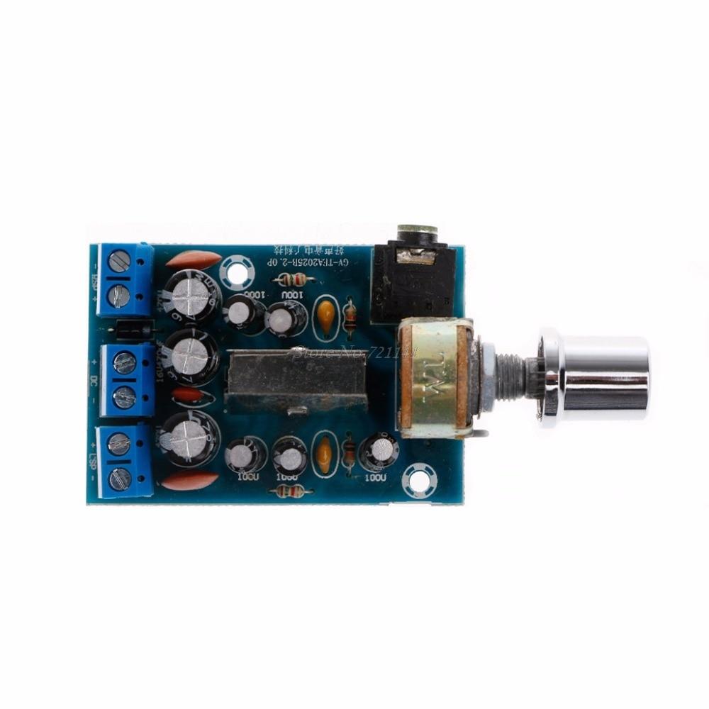 TEA2025B 2.0 Stereo Dual Channel Mini Audio Amplifier Board For PC Speaker 3W+3W Integrated Circuits Dropship